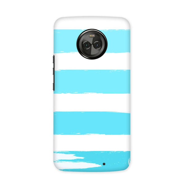 Blue Scale Case for Moto X4