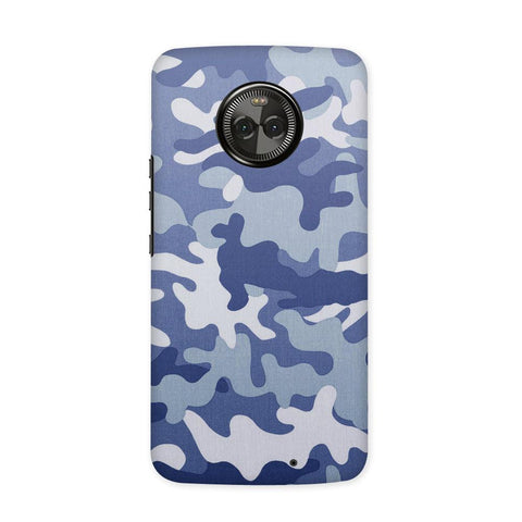 Camouflage Grey Case for Moto X4