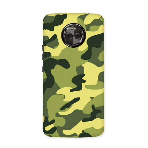 Classic Camouflage Case for Moto X4