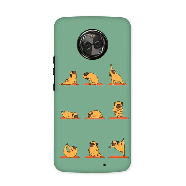 Cute Pug Case for Moto X4