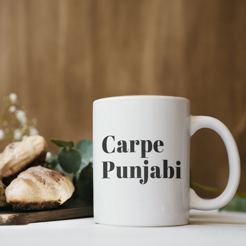 Carpe Punjabi Coffee Mug