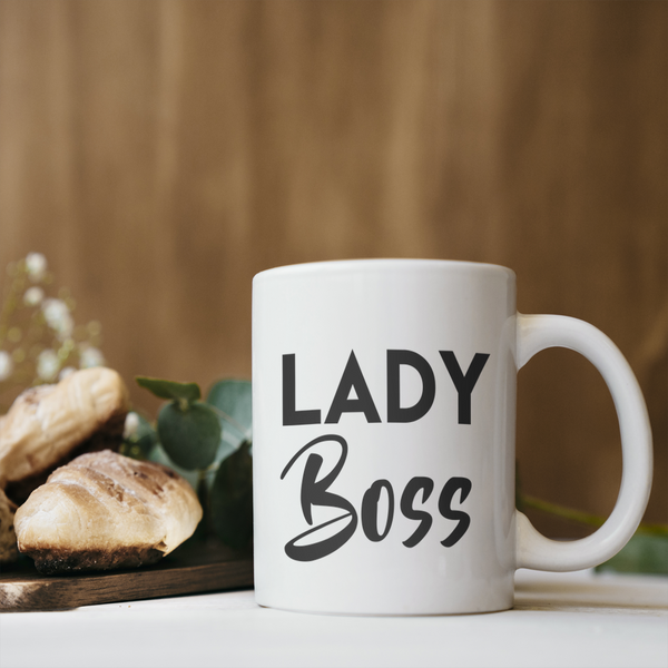 Lady Boss Coffee Mug