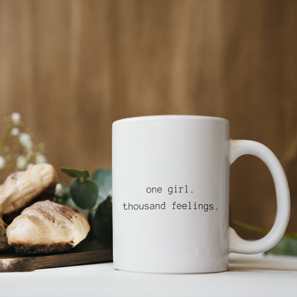 One Girl Coffee Mug