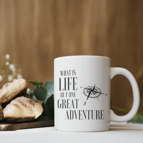 Life is Adventure Coffee Mug
