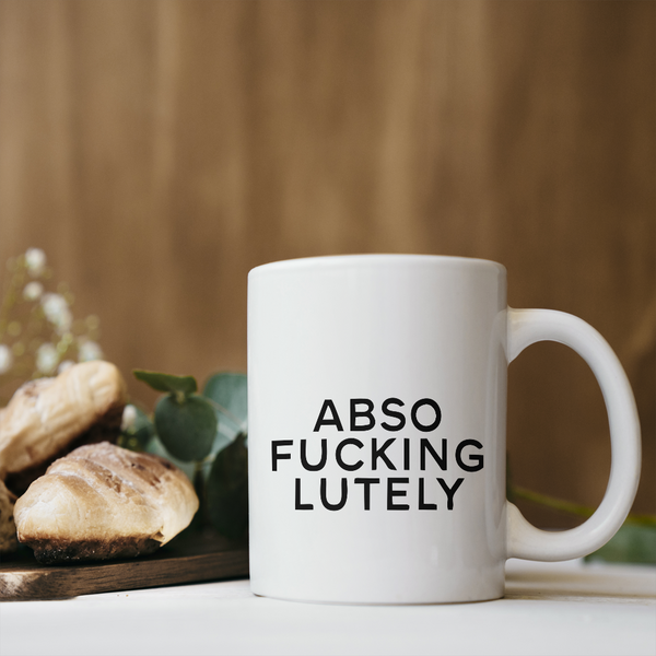 Absolutely Coffee Mug