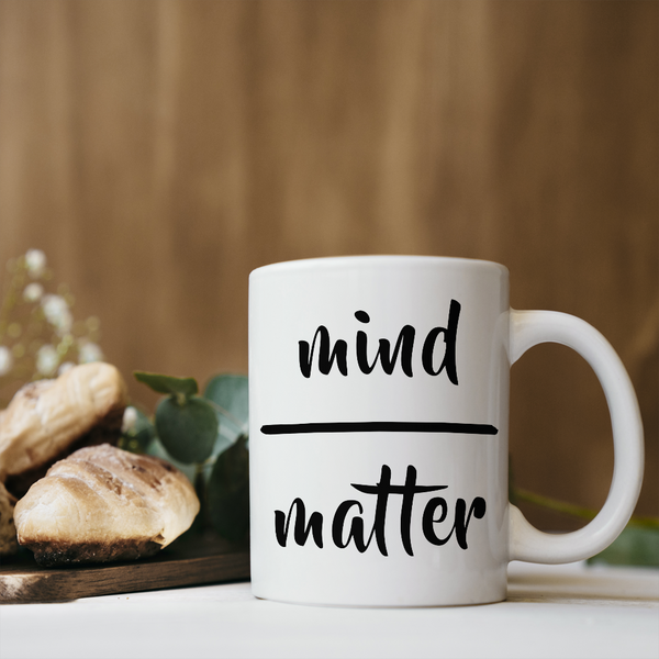 Mind Matter Coffee Mug