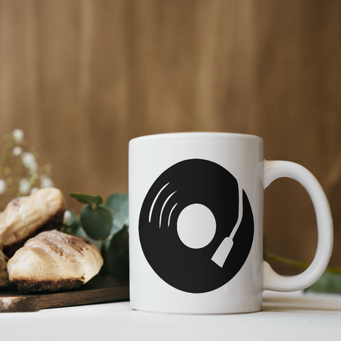 Music Record Coffee Mug