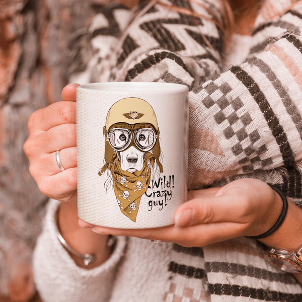 Wild Crazy Guy Coffee Mug