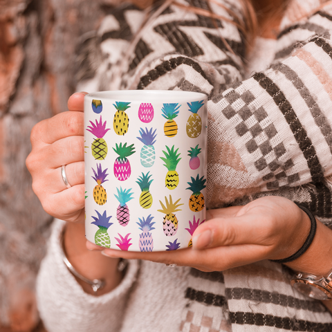 Pineapples Coffee Mug