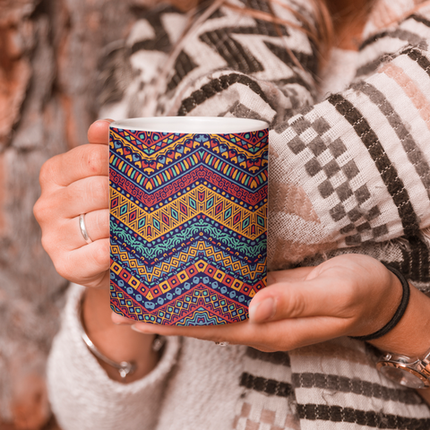 Indie Pattern Coffee Mug