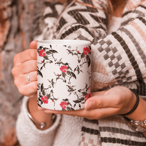 Flower Strokes Coffee Mug
