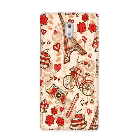 Paris Love Case for Nokia 3