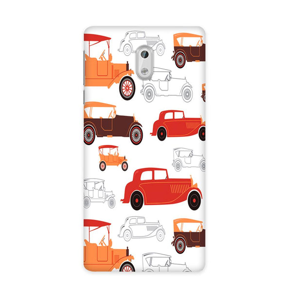 Vintage Wheels Case for Nokia 3
