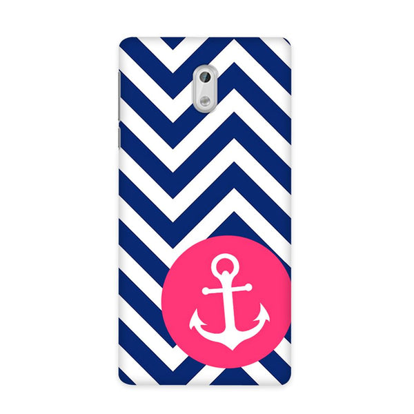 Navy Anchored Case for Nokia 3