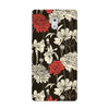 Black Flora Case for Nokia 3