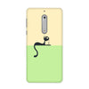 Cute Kitty Case for Nokia 5