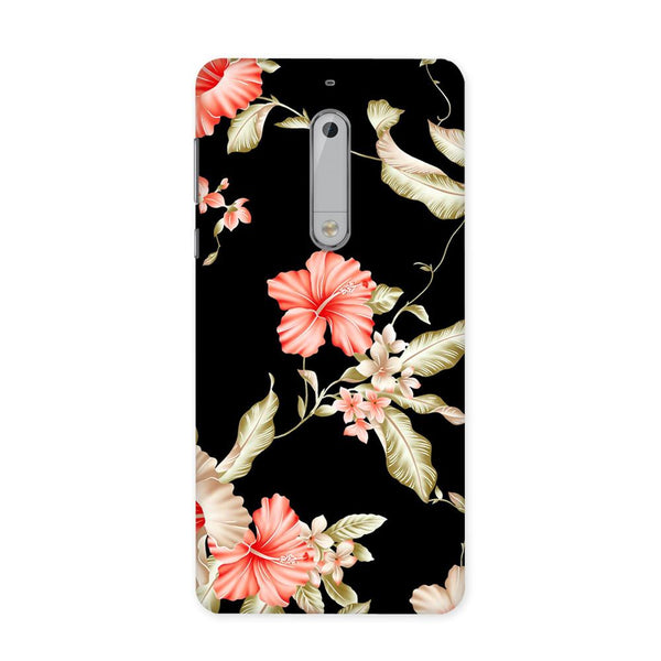 Dark Flower Case for Nokia 5