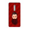 Grow A Beard Case for Nokia 5