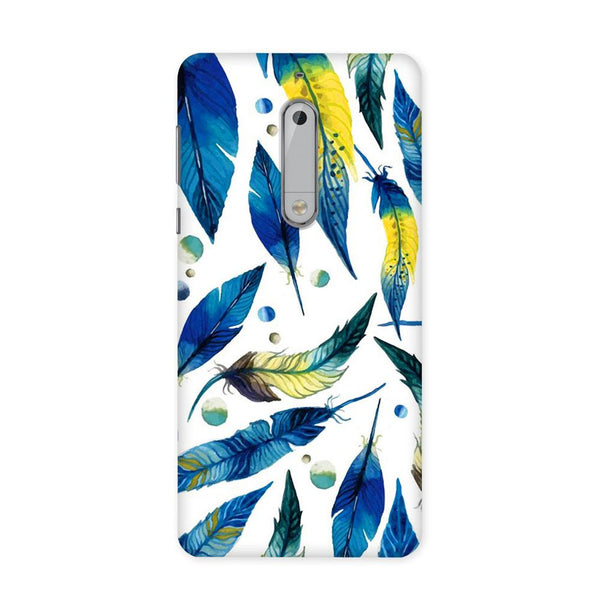 Feather Bluo Case for Nokia 5
