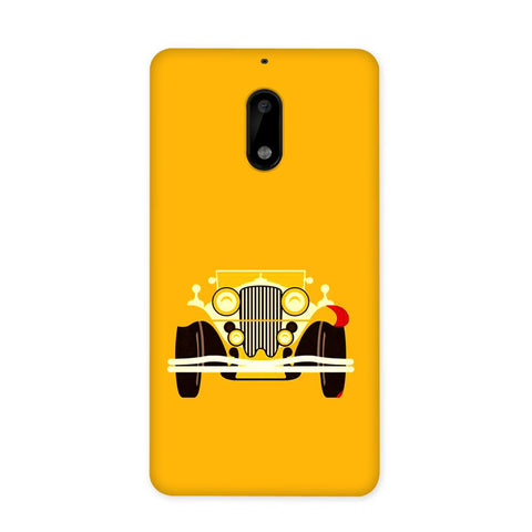 Vintage Car Case for Nokia 6