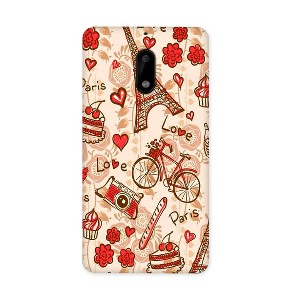 Paris Love Case for Nokia 6