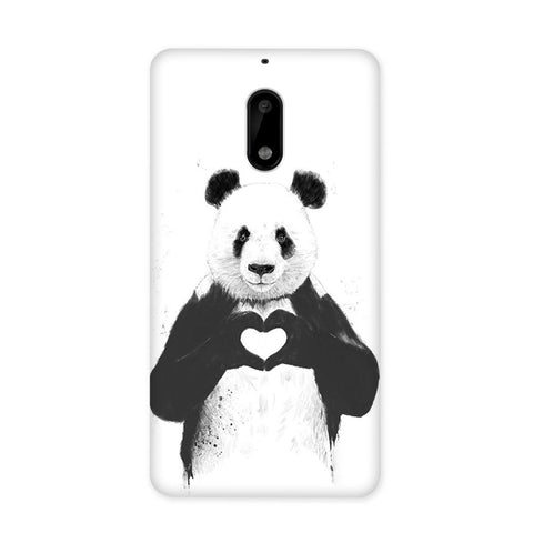 Panda in Love Case for Nokia 6