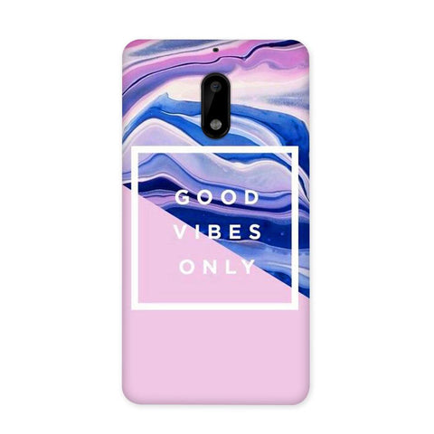 Good Vibes Only Case for Nokia 6