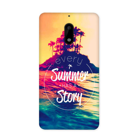 Summer Story Case for Nokia 6