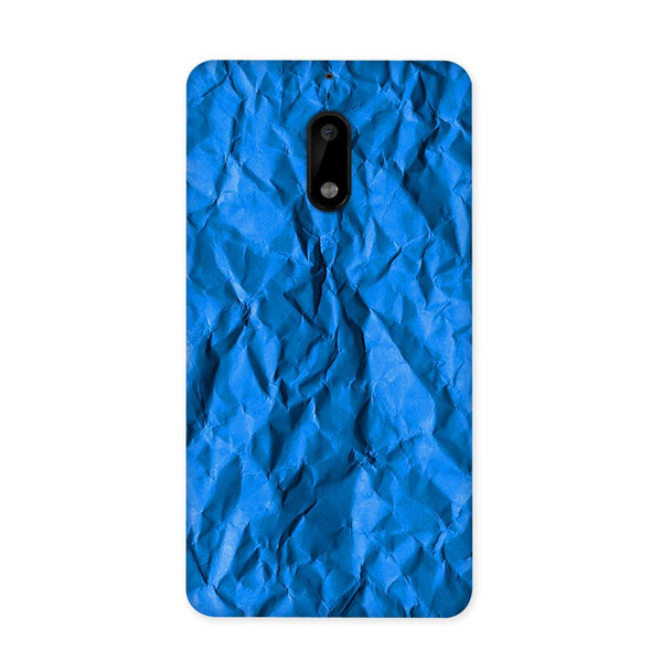 Crumpled Blue Case for Nokia 6