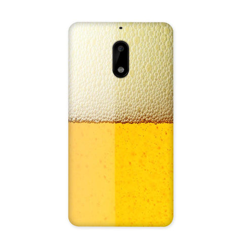 Beer Yellow Case for Nokia 6