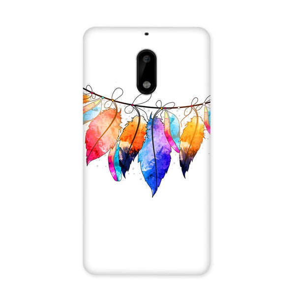 Feather Hues Case for Nokia 6