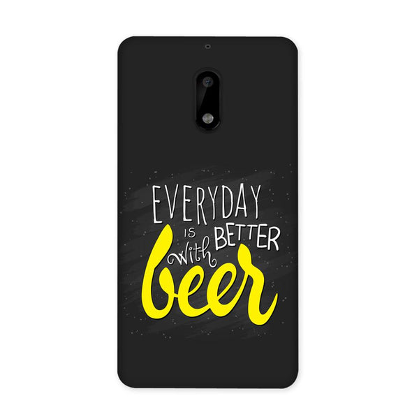 Better Days With Beer Case for Nokia 6