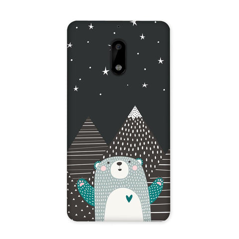 Bear Under The Stars Case for Nokia 6