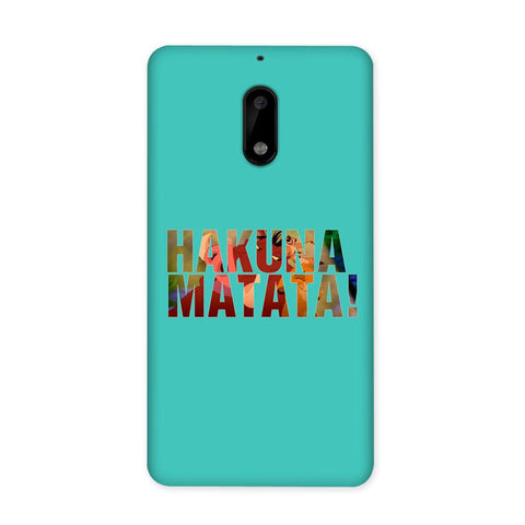 Hakuna Matata Blue Case for Nokia 6