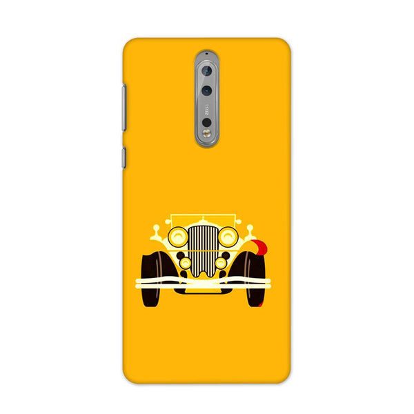 Vintage Car Case for Nokia 8