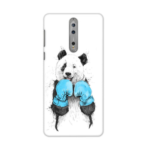 Panda Boxer Case for Nokia 8