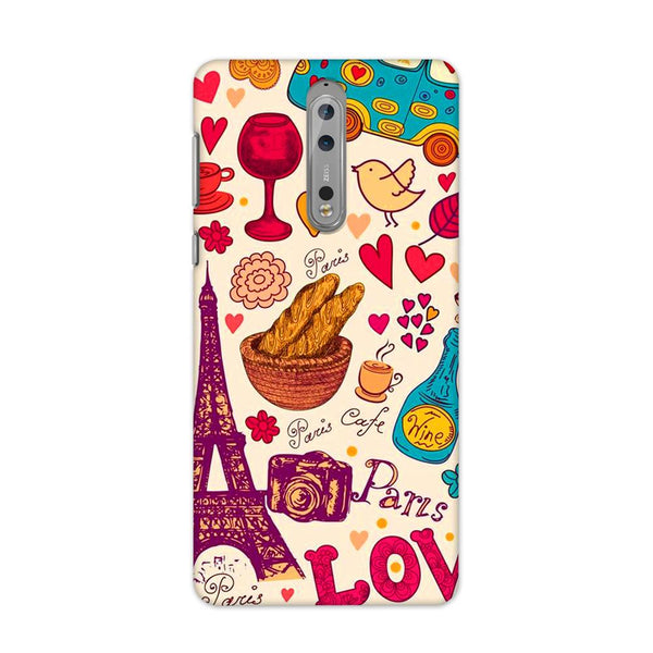 Paris On My Mind Case for Nokia 8