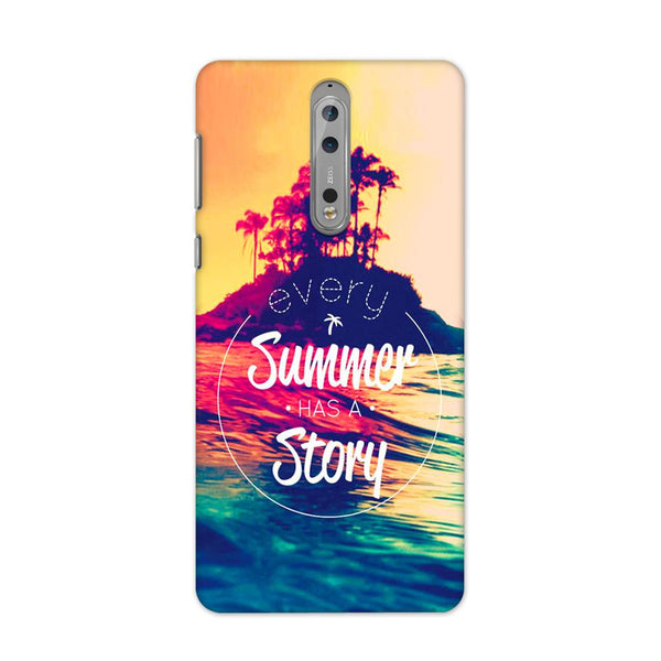 Summer Story Case for Nokia 8