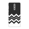 Monochrome Chevron Case for Nokia 8