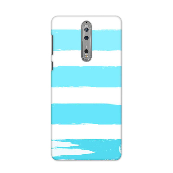 Blue Scale Case for Nokia 8