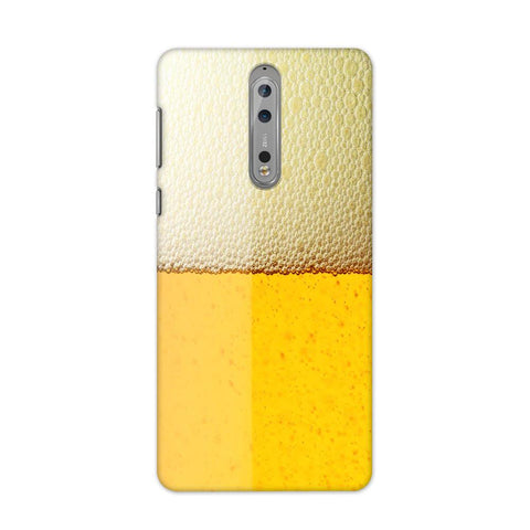 Beer Yellow Case for Nokia 8