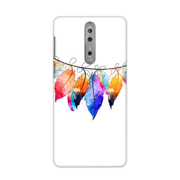 Feather Hues Case for Nokia 8