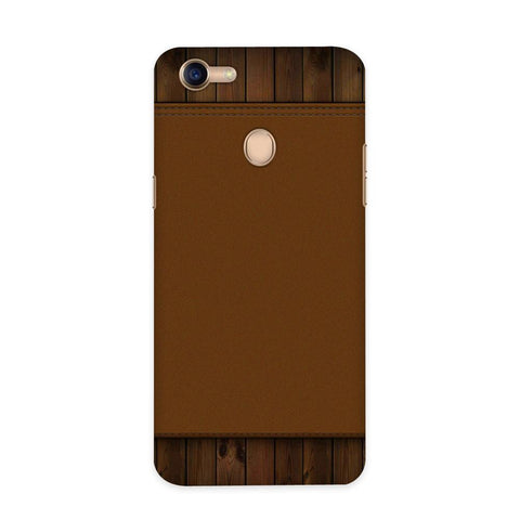 Brown Cosmo Case for Oppo F5