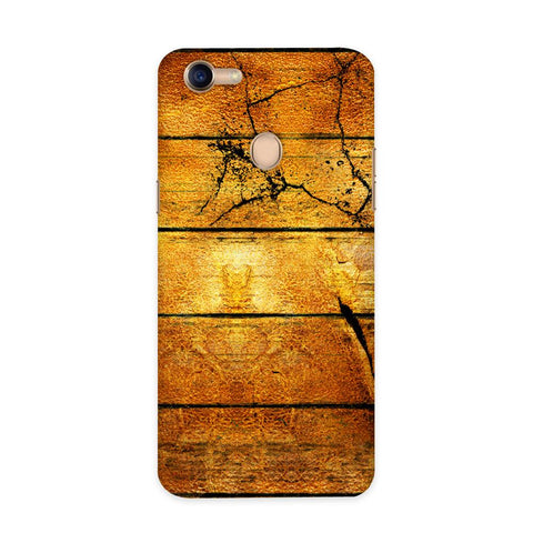 Wood Plank Case for Oppo F5