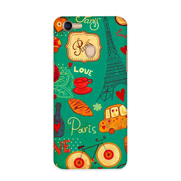 Paris In My Mind Case for Oppo F5