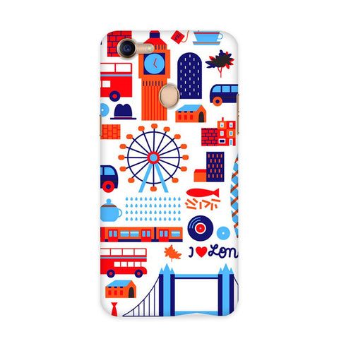 London Vintage Case for Oppo F5