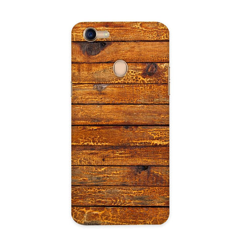 Wooden Vio Texture Case for Oppo F5