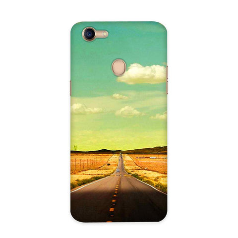 Lonely Road Case for Oppo F5