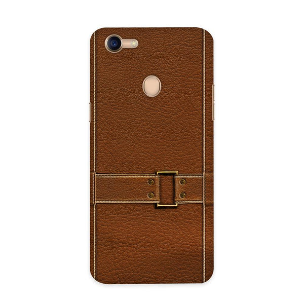 Leather Bind Textured  Case for Oppo F5