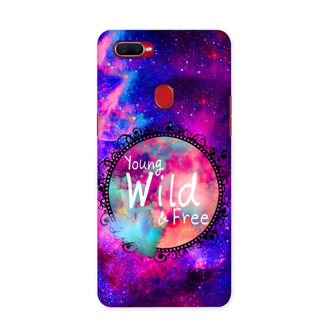 Wild & Free Case for Oppo F9 Pro